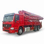 pump truck maximum 92kph turning radius 7 600mm qdz5280thb