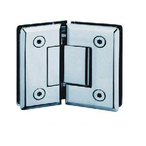 shower hinge glass clip