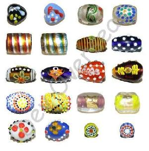 handmade lampwork indian glass beads