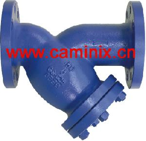 cast steel y strainers api din