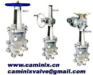 knife gate valve caminix
