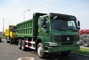 howo steyr king tipper dump truck