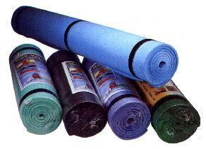 yoga mat fitness sport