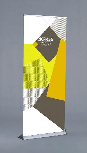 acpass expert display stand roll up banners