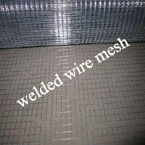 Electro Galvanized Welded Wire Mesh, Square Hole