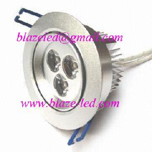 dimmable 9w 3 3w cree led downlight recessed lights