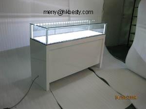 led light jewelry display showcases case