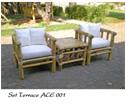 Set Terrace Ace 002 Natural Color 2sc 1tb