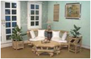 Set Terrace Ace 002 Natural Color 2sc 1tb, With Kapok Cushion And 6 Pillows