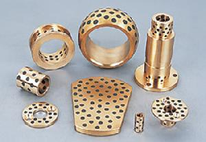 guide bush wear plate solid bronze bushing cast bearings oilless bearing sliding