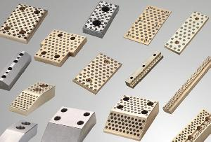 guide bush slide plate wear plates oilless bearing cast bronze bearings