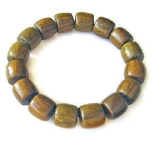 tibetan green sandalwood prayer drum beads wrist mala