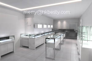 jewellery display counter watch beand cabinet led light