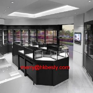 jewelry display showcase 3d drawing store