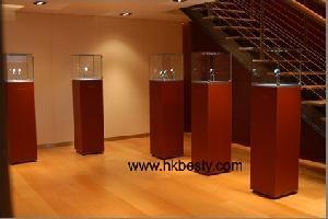 jewelry display showcase diamond watch