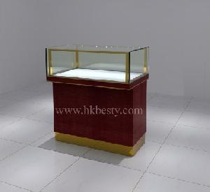 watch display counter showcase led light jewelry diamond