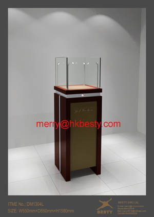 watch display tower showcase jewelry diamond