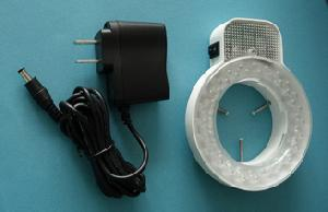 adjustable brightness led ring light 48 bulbs stereo microscopes