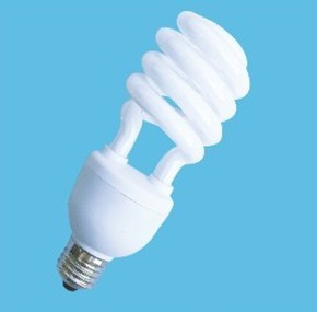 spiral integrated compact fluorescent lamp