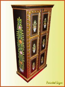 Hand Painted Cabinet Indian Furniture - page 1 - Products Photo ...