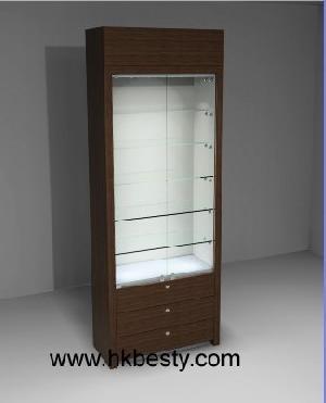 Wood Shop Display Cabinets