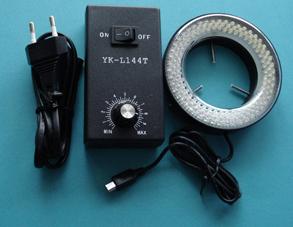 Interruptor Ajust�vel E Controle De Brilho Mircoscope Ilumina��o Led Iluminador