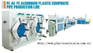aluminum plastic composite pipe line