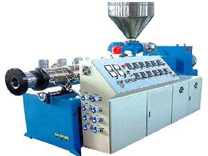 conical screw plastic extruder
