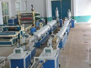 ppr pe pp pipes extrusion line