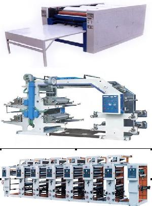 plastic woven bag printing machine