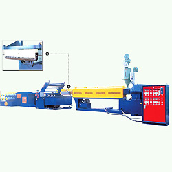 pp pe woven bag tape extruding machine economic