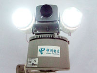 ip camera built gsm alarm system