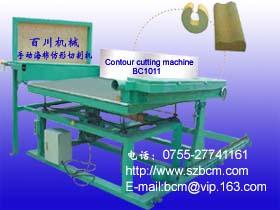 Contour Foam Cutting Machine Manual Operation