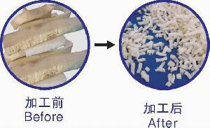 foam waste cutting machine