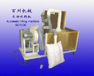 pillow cushion filling machine