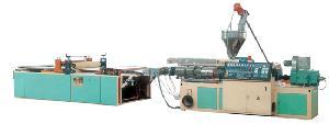 Pvc Transparent Wave Sheet Extrusion Line