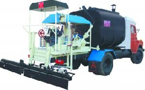 bitumen sprayer mechanical broom