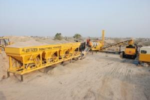 drum mix plant machinery