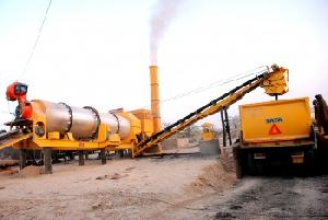 India Made Asphalt Drum Mix Plant