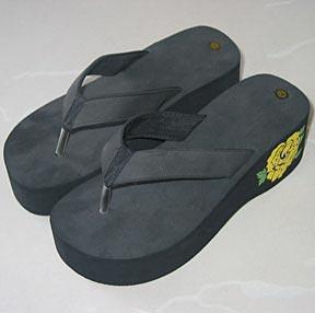 sole heel ladies flip flop slippers sandals