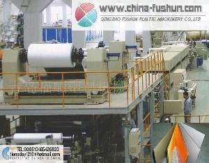 plastic machinery aluminum composite plate apcp line