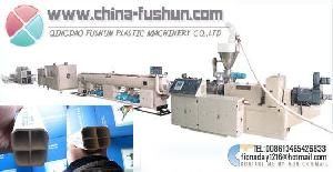plastic machinery communicating pipeline pvc pipe extruder line