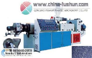 plastic machinery heat cutting granulating machine