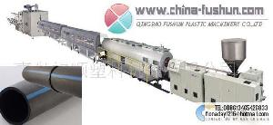 plastic machinery pp pe pipe line