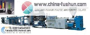 plastic machinery pp pe ps abs pvc plate sheet line