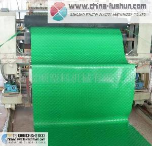 plastic machinery pvc pad line
