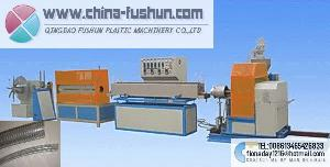 plastic machinery pvc steel wire reinforced pipe units