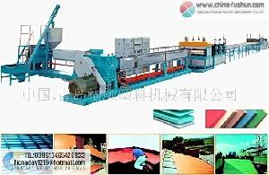 plastic machinery xps line