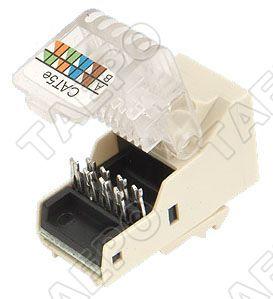 network communications cat5e keystone jack