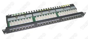 network communications cat5e stp patch panel